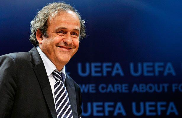 Platini recibe respaldo de la Federación Mexicana de Futbol - El presidente de la UEFA, Michel Platini, ha recibido en las últimas horas el respaldo de los presidentes de las federaciones de Chile, Uruguay y Mé...