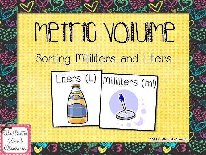 Milliliter To Liter
