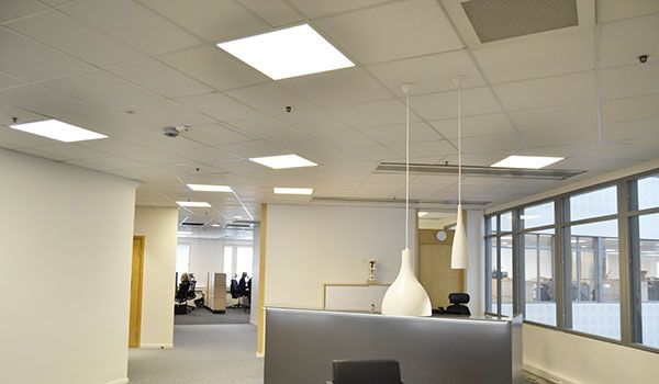 Energy savings and improved well-being at HPs Sweden office