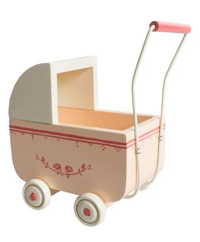 Maileg Pink Pram for MICRO Friends