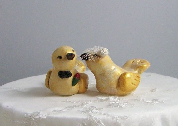 Hey, I found this really awesome Etsy listing at https://www.etsy.com/listing/62011332/custom-wedding-cake-topper-birds