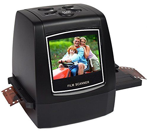Digitnow 22MP/14MP All In 1 Slide,Film and Negative Scanner for 35mm, 110, 126, and Super 8 Films/Slides/Negatives To Digital Converter  Convert 35mm,110, 126KPK and Super 8 films,Slides & Negatives into digital JPEG format in Seconds with 22 MP(Interpolated)  Support SD card up to 32GB(SD card not included). Brightness and color auto & manual adjustable. Saves images into internal memory or optional SD/MMC cards.  Stand-Alone-no computer required, Mac & PC Compatible. Video Out for TV...