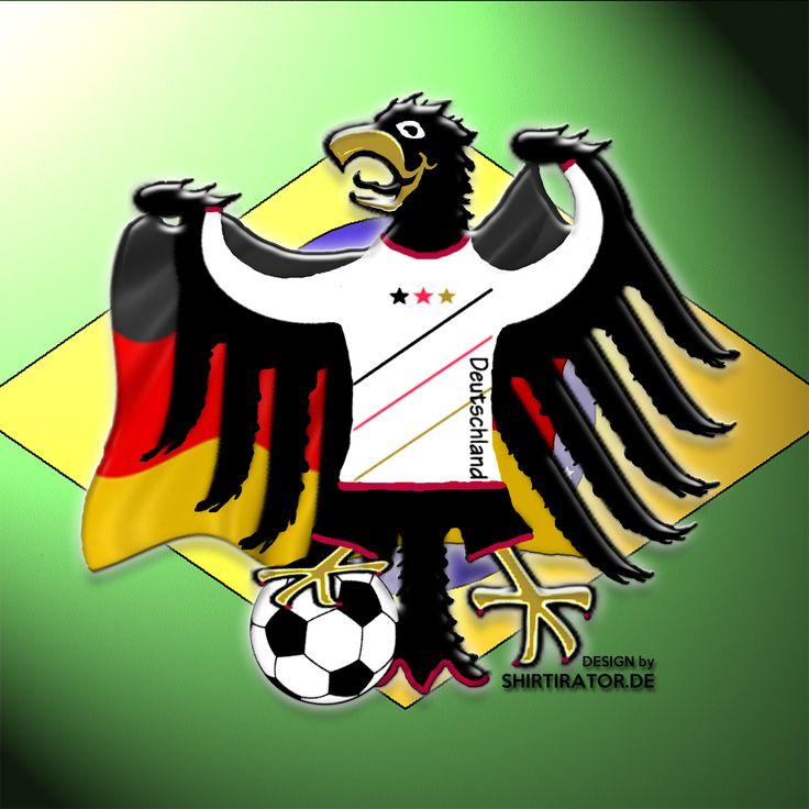 2014 - Deutschland zu Gast in Brasilien - aber wir werden nicht mit leeren Händen zurückkehren. #fussball #dfb #fan