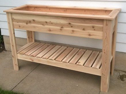 Raised Herb Garden Lumberjocks Projects Pinterest Raised