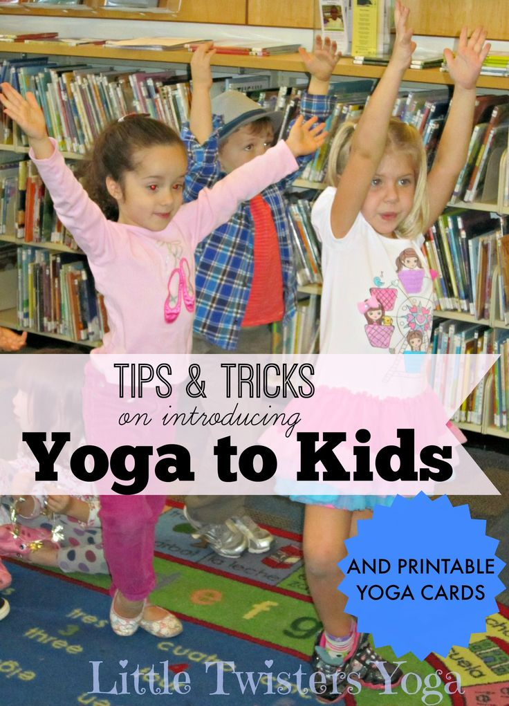 Tons of tips on introducing yoga to young kids (even toddlers!) from a…