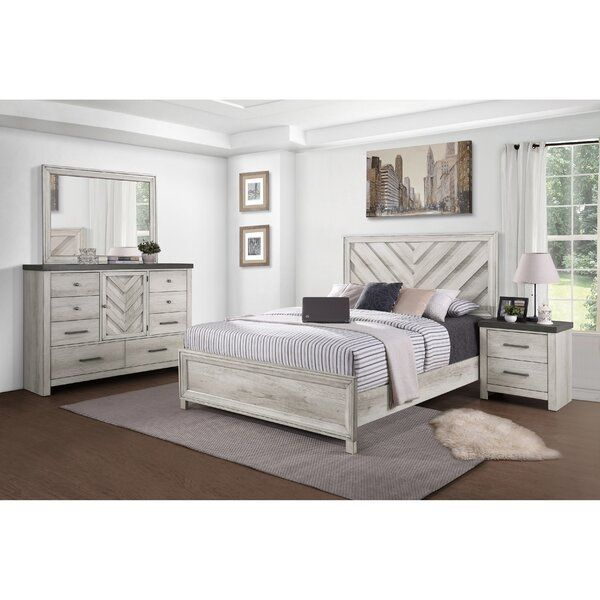 Pinar Standard Configurable Bedroom Set In 2020 Beautiful Bed Designs Bed Design White Bedroom Furniture