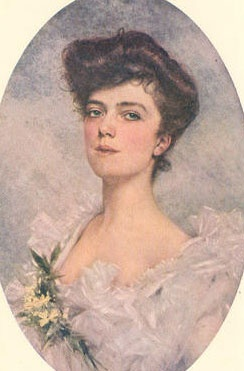 """Alice Roosevelt Longworth: """"Alice Blue"""" was her signature color. Theodore once said"""