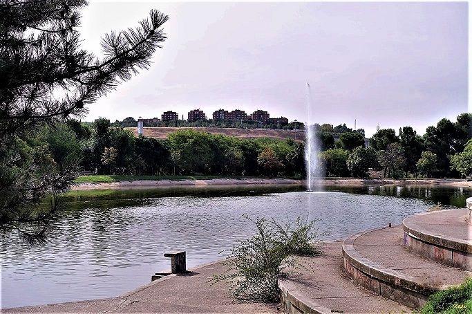 Estanque del Parque Tierno Galván (Madrid)