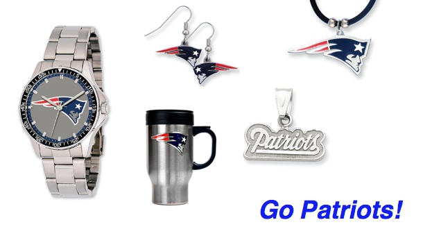 Good Morning! Who's ready for the big game tomorrow. And who knew how much Patriots gear you can get at HJ!