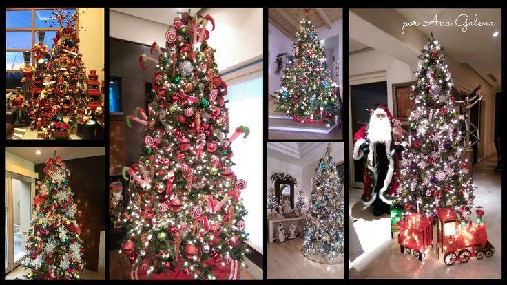 Christmas tree decorating ideas / Ideas para decorar el arbor de Navidad