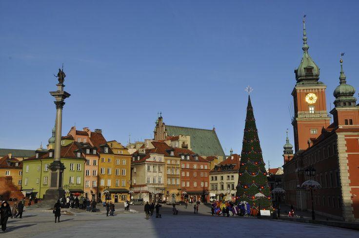 Varsovie vieille ville,voyage Pologne