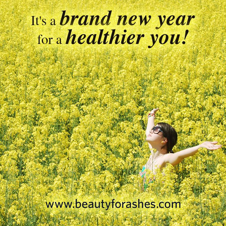 It's a brand new year for a healthier you! by Sally-Ann Creed. God grants us new opportunities each day God grants us the opportunity of a new beginning each day—and annually we have the opportunity of starting a brand new year which can have a profound effect on how we approach the future.