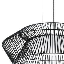 Eglo Piastre Hanglamp Ø 58 cm - Zwart