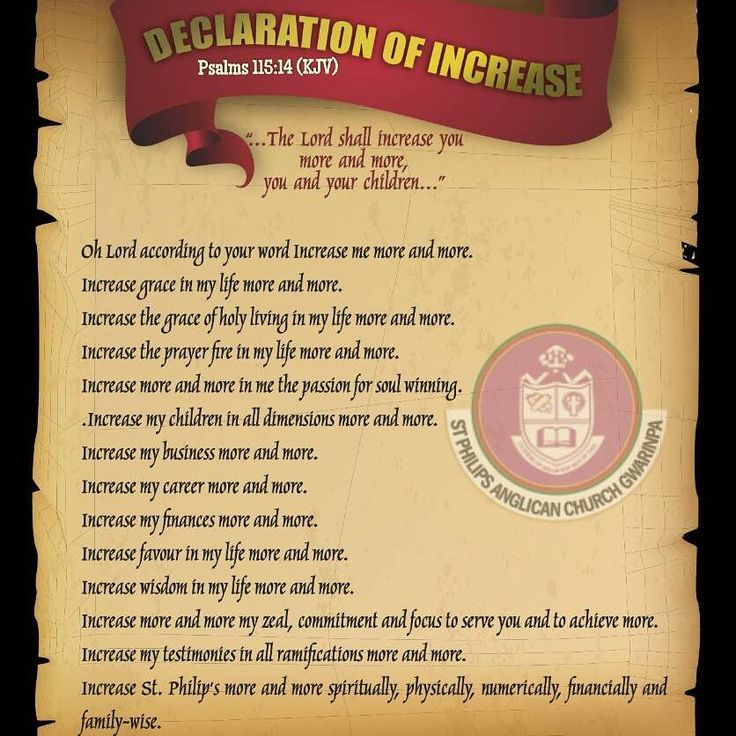 Just as God handed down the scroll of the Ten Commandments to Moses, God again in His everlasting mercies, through His mouthpiece, our friend and vicar,Revd Canon Ovie Ezimeruwe admonished us to also live our daily lives with this - #DeclarationOfIncrease. The #theme for this #year 2017 from the #Gwarinpa #Archdeaconry of the #AnglicanCommunion, #ChurchOfNigeria says THIS IS OUR YEAR OF DIVINE RESTORATION. Naturally, after #restoration, comes #increase just as it is written in the #Bible The…
