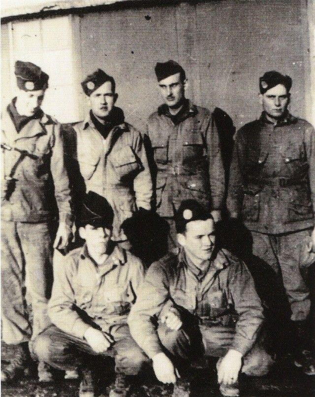 "Ralph Stafford, Denver ""Bull"" Randleman, Earl Bruce, Rudolph ""Big Boy"" Dittrich Jack Miller, Alex Penkala"