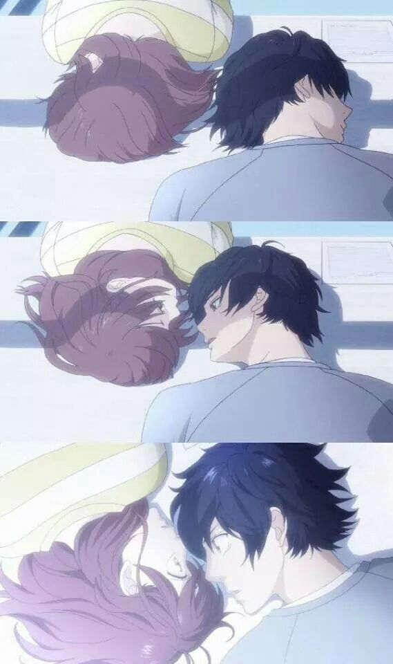 Anime couples a collection of ideas to try about other for Nice romantic scenes