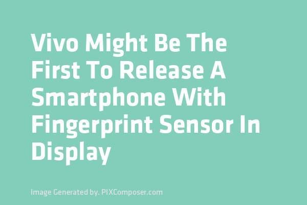 <p>We recently saw a leaked video of a Vivo phone that would have been the first smartphone to integrate a fingerprint scanner under its screen. A first official teaser appears on the run today, and seems to confirm that the phone will be presented on June 28 during the Mobile […]</p>