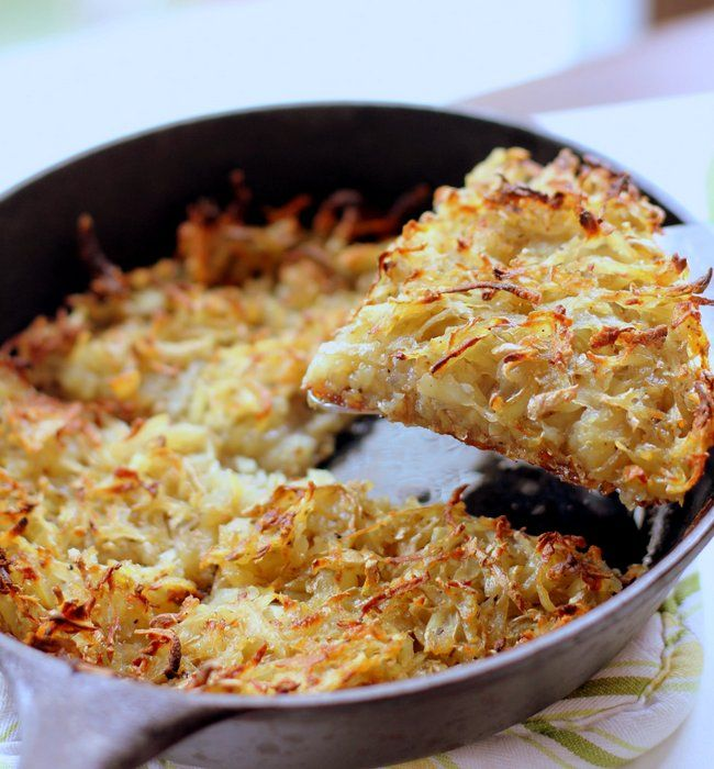 how to cook hash browns on a pan