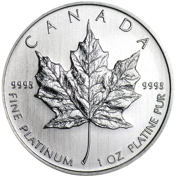 Buy 1 Oz Canadian Platinum Maple Leaf Coins Money Metals Silver Maple Leaf Canadian Maple Leaf Silver Bullion
