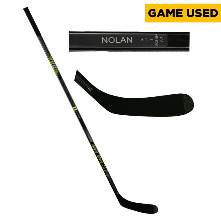 Jordan Nolan Los Angeles Kings Fanatics Authentic Game-Used Black CCM Hockey Stick from the 2016-17 NHL Season