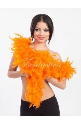 boas de plumas, boas baratas, boas de plumas de colores, boa naranja - Tienda Esfantastica