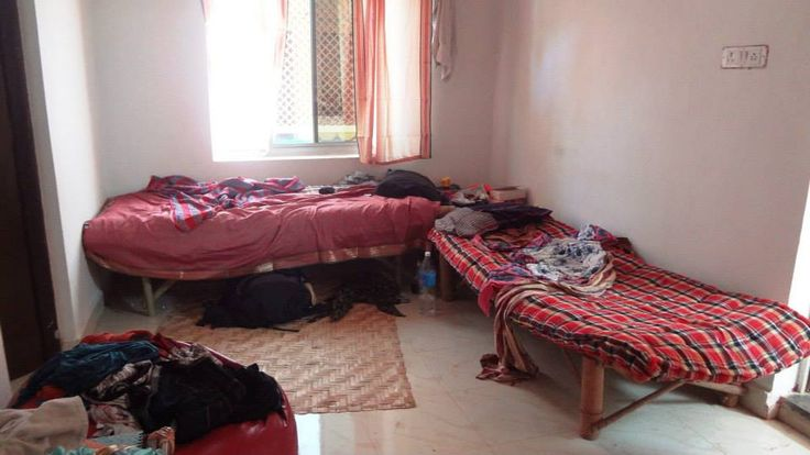 This is how backpackers' room/hostel/bnb looks like on the first day of their arrival :p