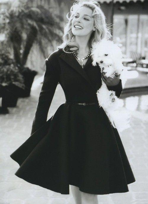 vintage fashion dress