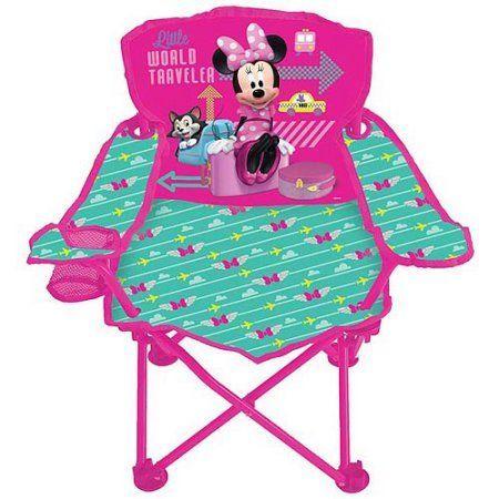 Disney Minnie Mouse Jet Set Fold 'N Go Chair - Walmart.com