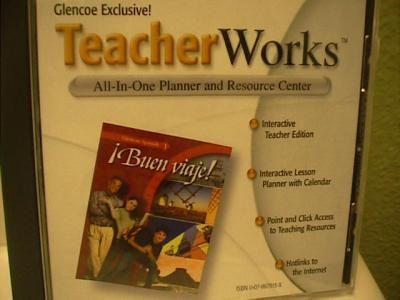 Buen Viaje! Level 1 TE Teachertools Set ( 0078659981 ) on CD ROM (no books) 05,08