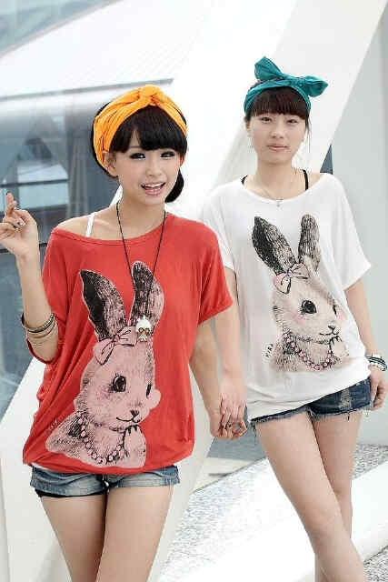 Rabbit Blouse $6