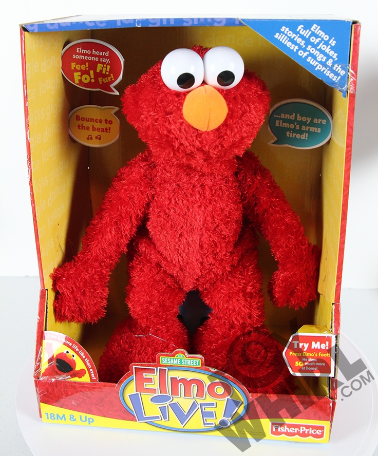 Elmo Live Doll By Fisher Price