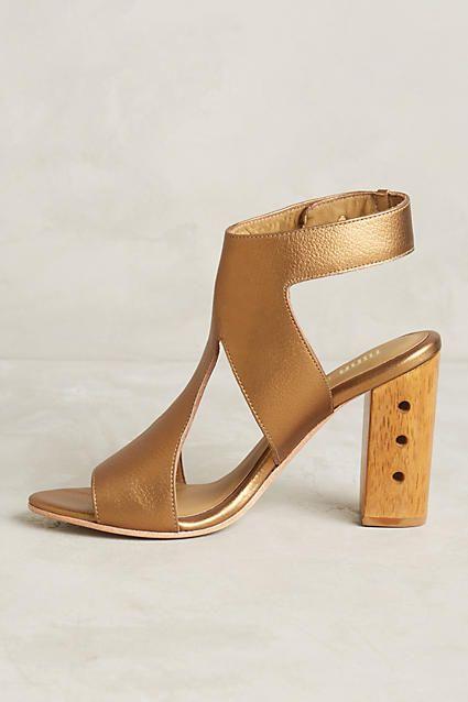 Nina Payne Izzy Cutout Heels - anthropologie.com