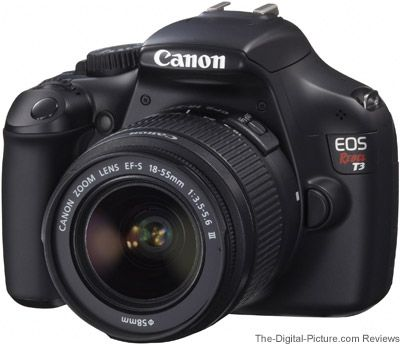 My new camera... the Canon EOS Rebel T3 / 1100D Digital SLR