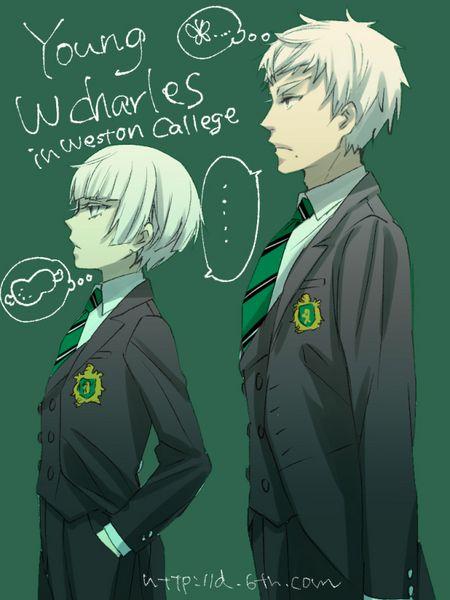 Black Butler ~~ College Boys from Yana Toboso's Blog