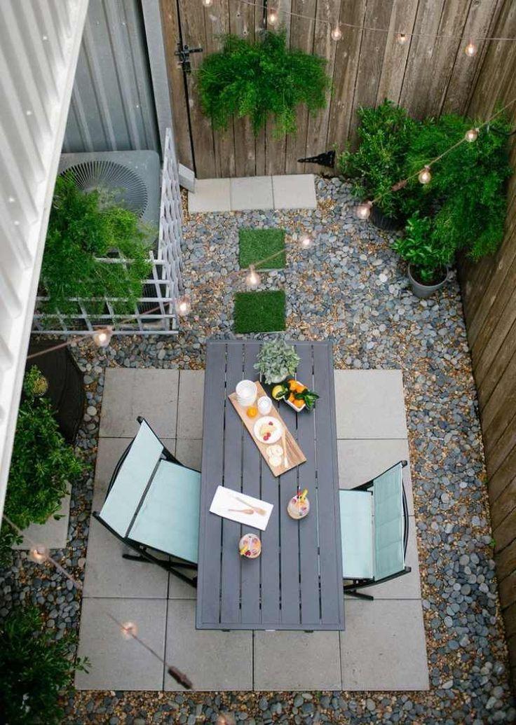 17 meilleures id es propos de patio de galets sur pinterest lampadaires - Idees de jardin avec des galets ...