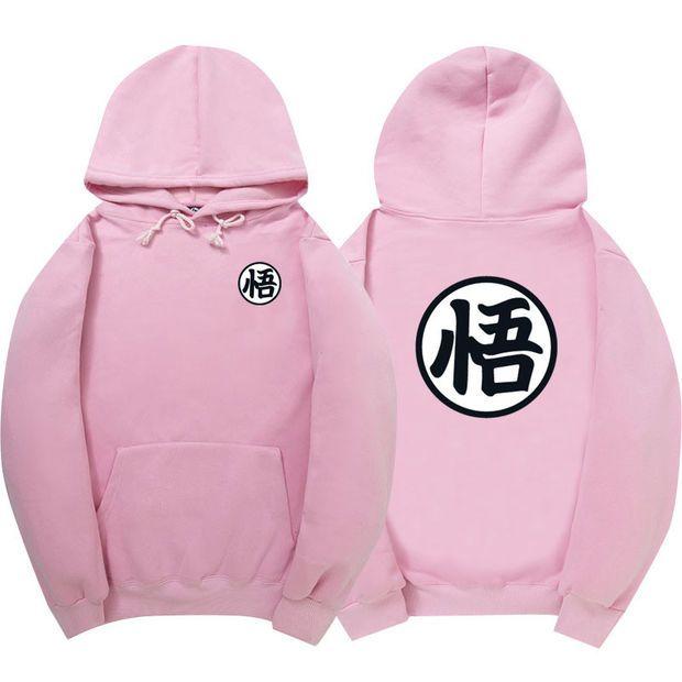 Dragon Ball Z Pink Hoodie