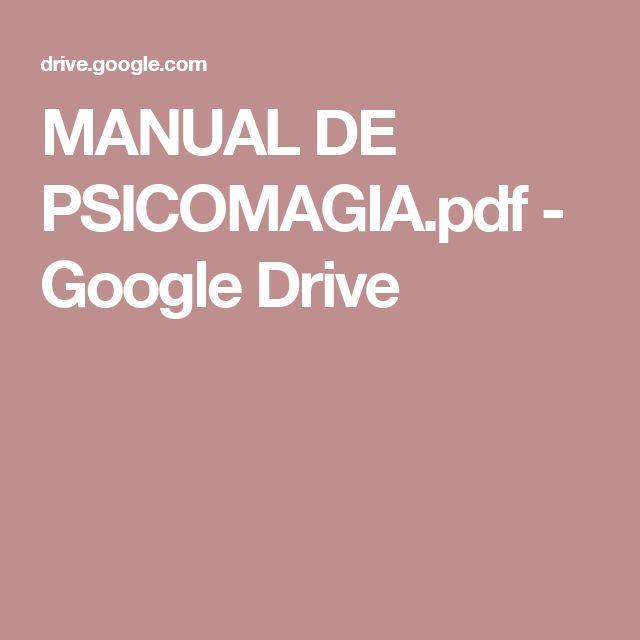 MANUAL DE PSICOMAGIA.pdf - Google Drive