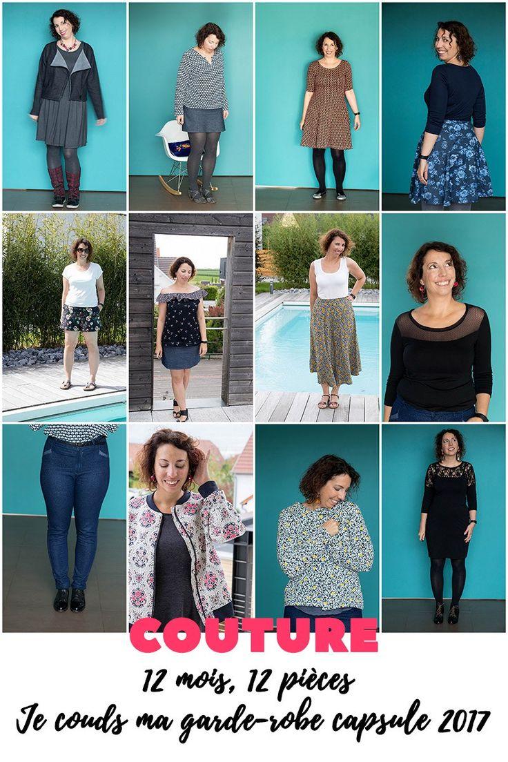 Ma garde-robe capsule : le bilan - Avril sur un fil