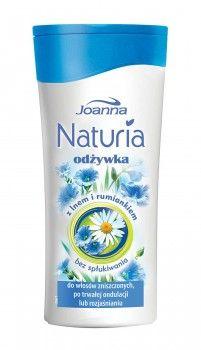 Odżywka bez spłukiwania z lnem i regenerującym rumiankiem. Pomoże Ci ona uratować rozjaśnione i zniszczone ondulacją włosy.