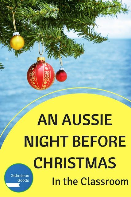 An Aussie Night Before Christmas - using this popular picture book in the classroom
