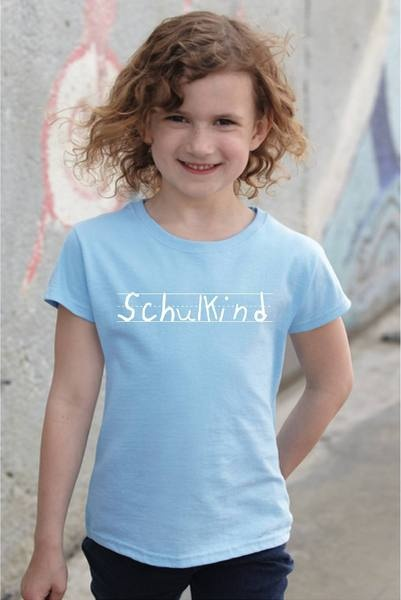 """Schulkind""-Shirt"