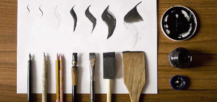 Инструменты для каллиграфии!