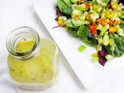 made this dressing on sunday and have used it all week for salads, pasta, and as a shrimp marinade. i will definitely be making this again... maybe next week!