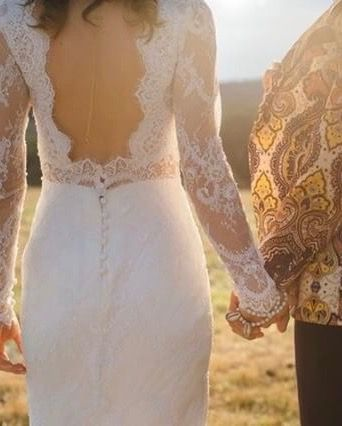 This gown was designed by d'Italia and custom made by d'Italia's dedicated couturiers, using d'Italia's beautiful fabric ❤️ Find out how at: www.ditalia.com.au/weddings / 9509 4633 / Melbourne / #weddingdress #bride #brides #couture #bridalinspiration #lace #ditaliafabric #bespoke #frenchlace #silk #custommade
