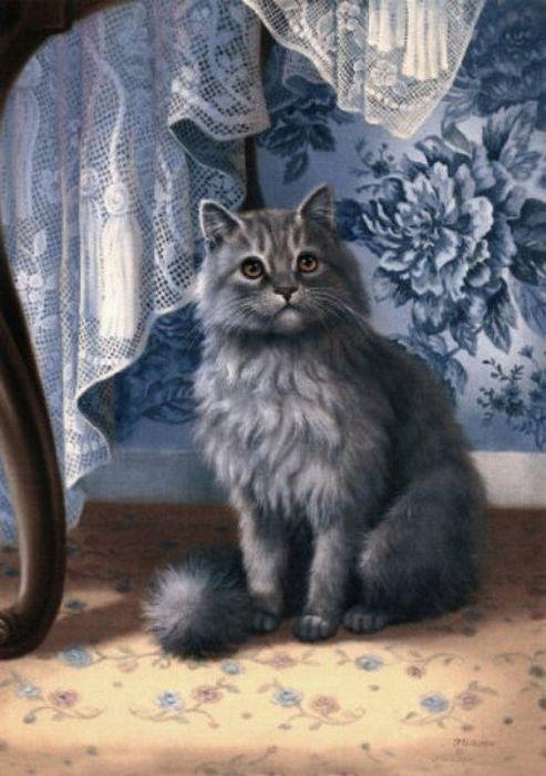 Au Fil Des Pages ...: Les Chats de Judy Gibson