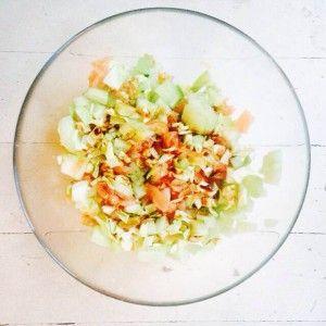 spitskool salade