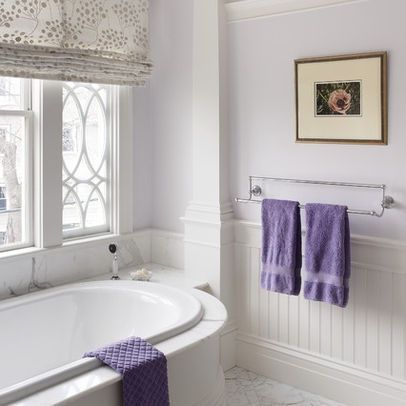 benjamin moore dreamy cloud is one of the best purple paint colours as it's light enough for a bathroom or a kids bedroom