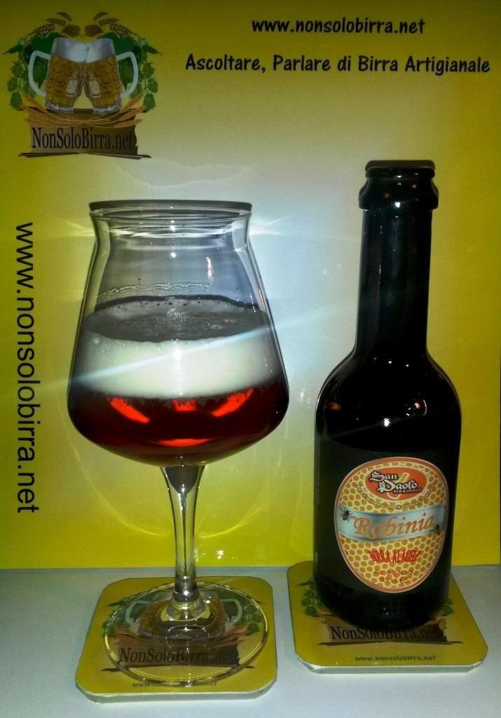 Robinia la Blond Ale al Miele del birrificio San Paolo