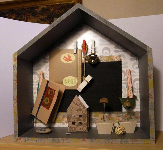 New old house - Pinboard/Regal von Meissen-Kreativ auf DaWanda.com