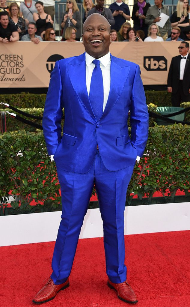 Tituss Burgess from 2017 SAG Awards: Red Carpet Arrivals